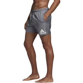adidas Badge of Sport Melange SL Pantalones Cortos Hombre, grey six
